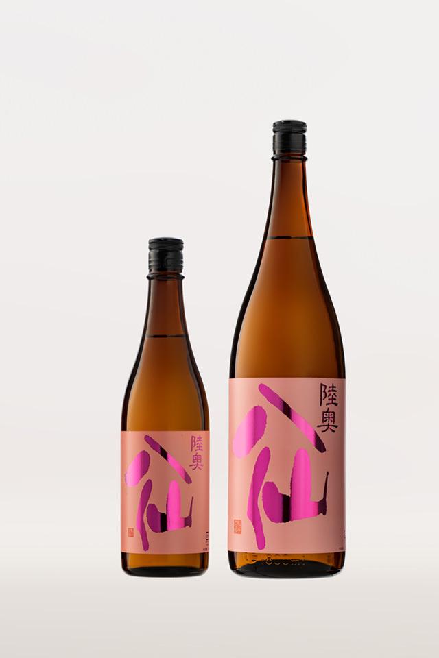 Mutsu Hassen Label rose , Ginjo