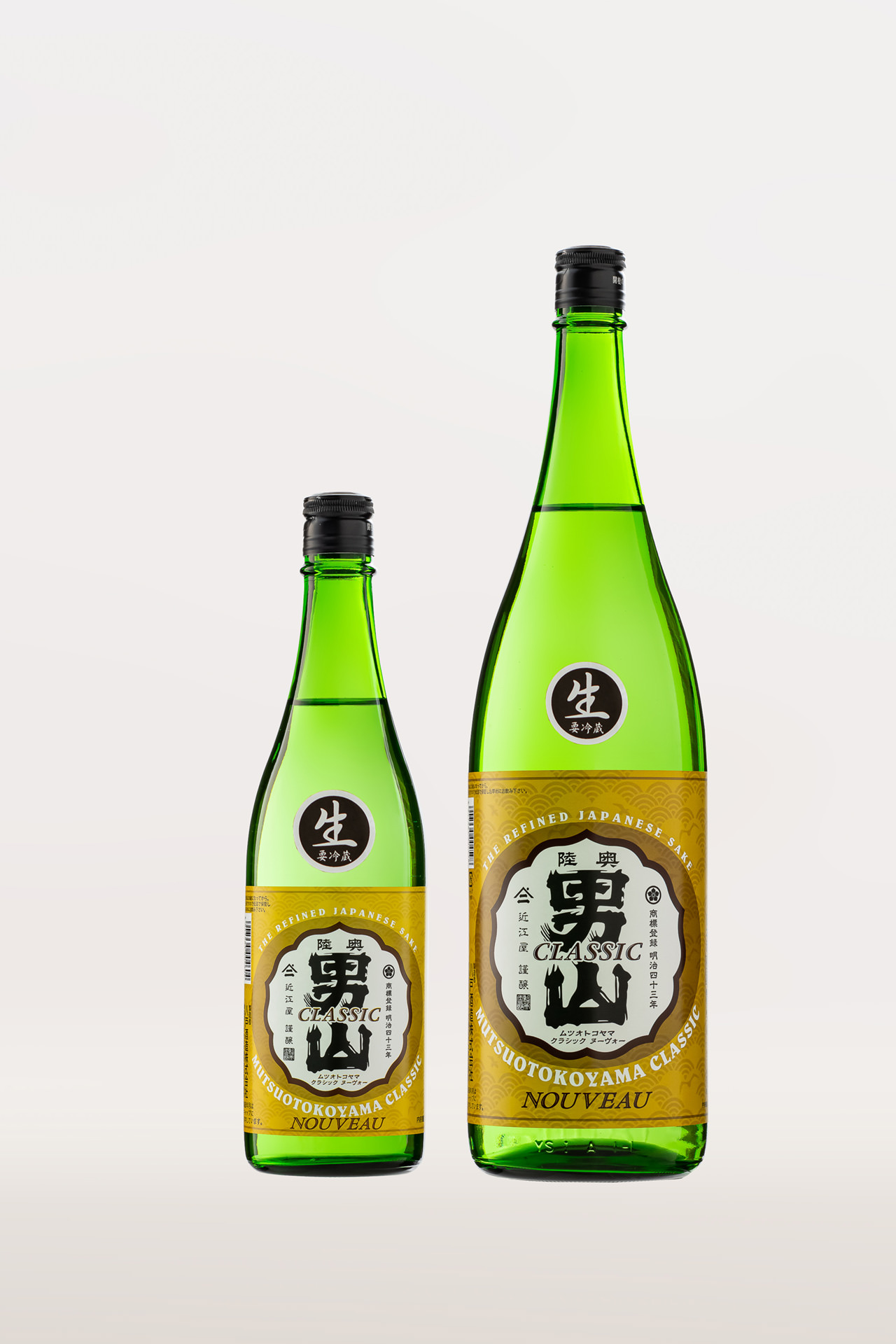 陸奥男山 クラシック ヌーボー (普通酒・生)