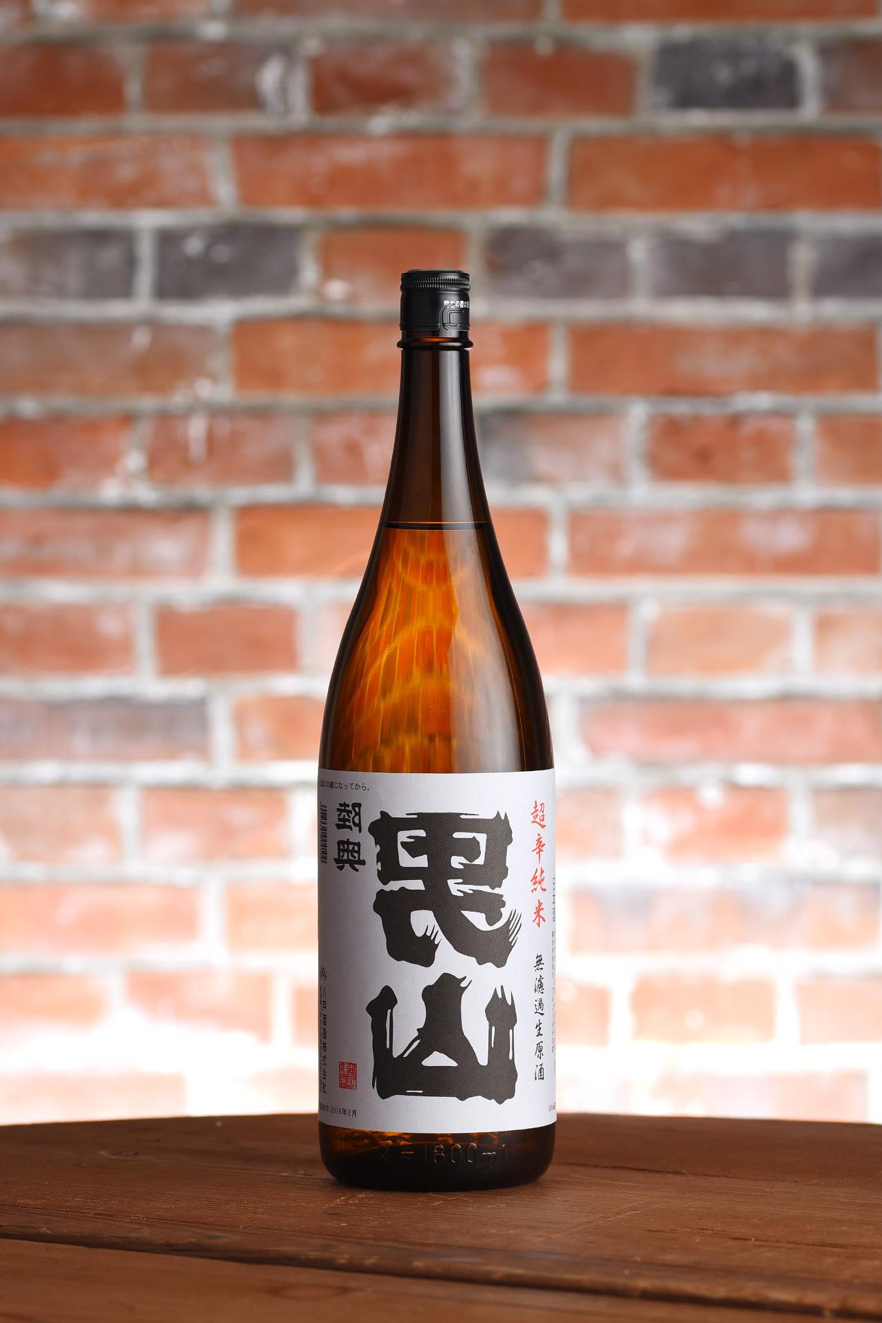 裏男山 超辛純米 無濾過生原酒 1,800ml