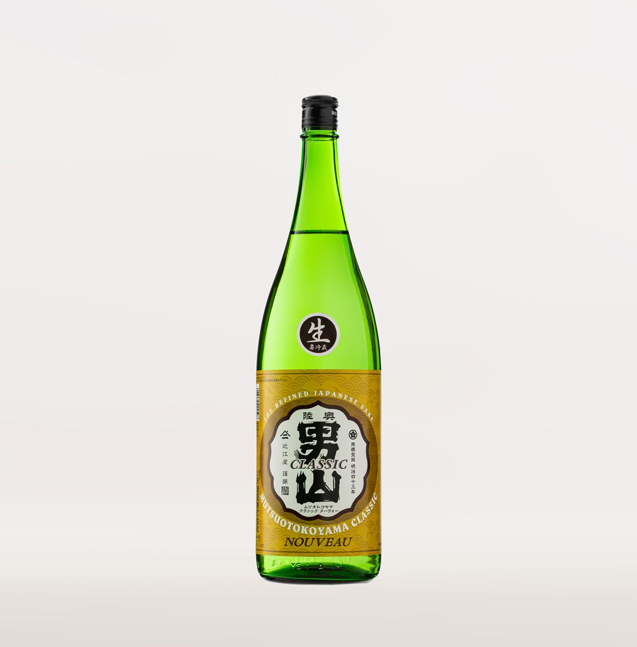 陸奥男山 クラシック ヌーボー (普通酒・生) 1,800ml