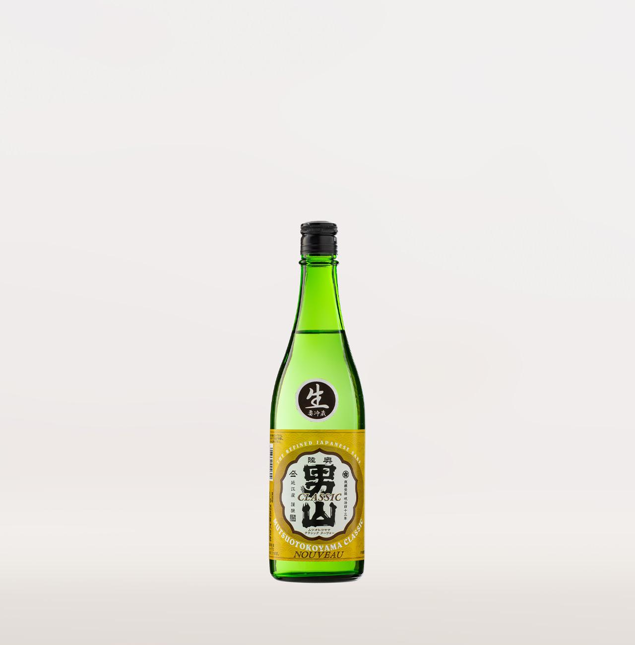 陸奥男山 クラシック ヌーボー (普通酒・生) 720ml
